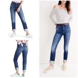 Madewell The High-Rise Slim Boyjean Skinny Jeans